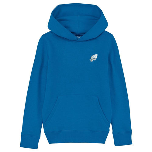 Pre-Order Raven's hoodie The Extra Smile 3-4 royal blue