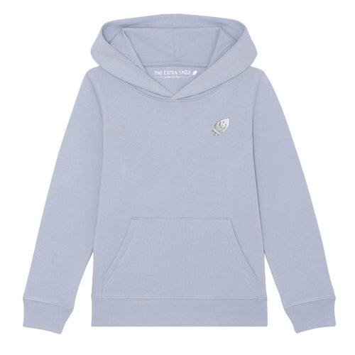 Pre-Order Raven's light blue hoodie sweat The Extra Smile 3-4 Light blue