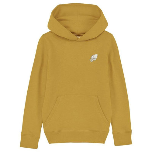 Pre-Order Raven's ochre hoodie The Extra Smile