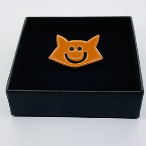 The Fox pin accessory The Extra Smile