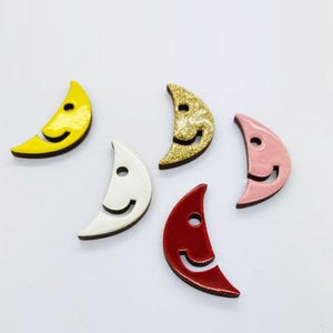 The Half Moon pin accessory The Extra Smile