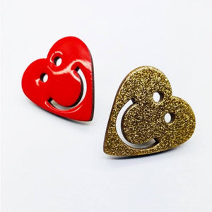 The Heart pin The Extra Smile