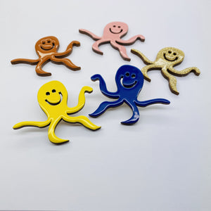 The Octopus pin accessory The Extra Smile