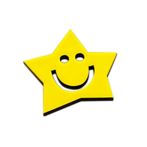 The Star pin accessory The Extra Smile
