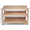 "rigidrack™ - 3 Shelf Rack - 1½"" Thick Maple Shelves - 1½"" Maple Legs"