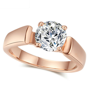 High Quality Cubic Zirconia Wedding Ring