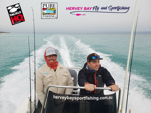Tyrone & Pure Fishing take Hervey Bay!