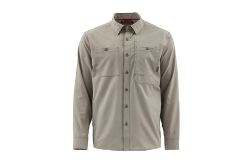 Simms Double Haul Long Sleeve Shirt Rock Ridge
