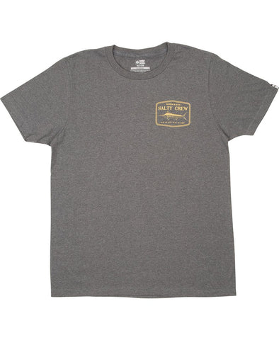 Salty Crew Stealth Heather Grey S/S Tee