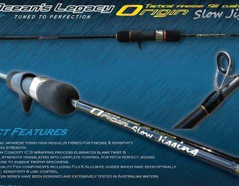 Oceans Legacy Origin Jigging Rods