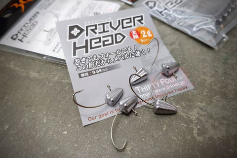 34 Thirty Four Driver Head Aji Micro Jig Heads
