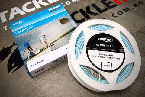 Airflo Flats Master Tropical Floating Intermediate WF8 Fly Line Blue/Grey