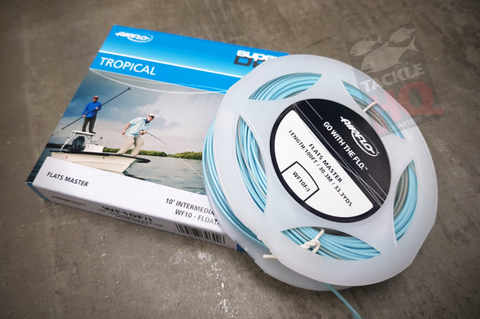 Airflo Flats Master Tropical Floating/Intermediate WF10 Fly Line Blue/Grey