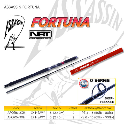 Assassin Fortuna PE 6-10 AFOR8-3XH