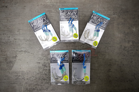 BKK Heavy Jigging Assist Hooks