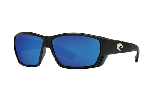 Costa 580G Tuna Alley Matte Black (Blue)