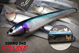 CB One Zorro 240 115mm Stickbaits