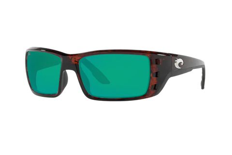 Costa 580G Permit Tortoise Sunglasses (Green Mirror)