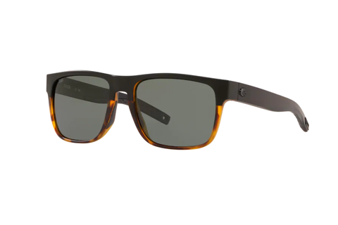 Costa 580G Spearo Matte Black & Shiny Tortoise (Gray)