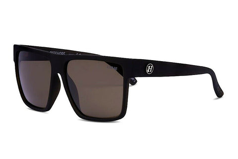 Liive Mad Hueys Offshore Matt Beer Polarised Sunglasses (Brown Lens)
