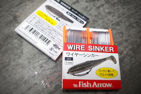 Fish Arrow Sinker Wire for Hooks and Soft Plastics