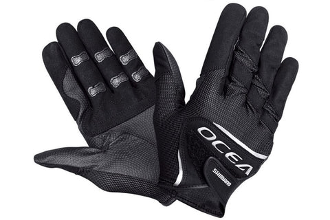 Shimano Ocea Jigging Gloves Black/Silver