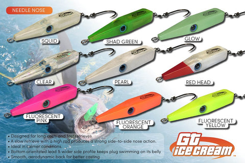 Assassin GT Ice Cream Needle Nose Plug Stickbait