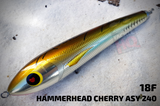 Hammerhead Cherry Asy 240 240mm 145g Stickbaits