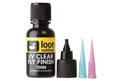 Loon UV Clear Fly Finish Thin Curing Resin 1/2oz
