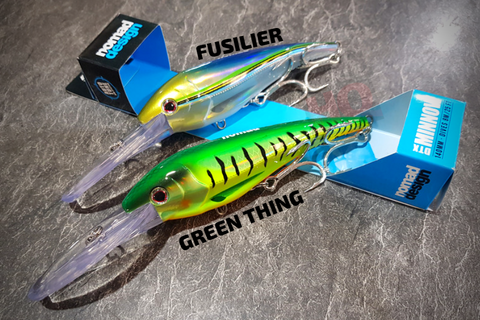 Nomad DTX Minnow 140mm 8m Dive Trolling Lures