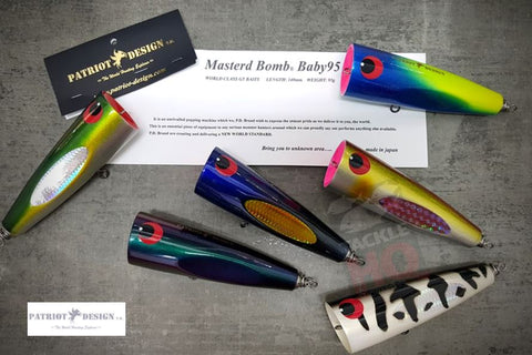 Patriot Design Masterd Bomb Baby 95 Popper