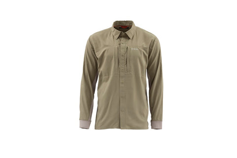 Simms Intruder BiComp Long Sleeve Shirt Tan