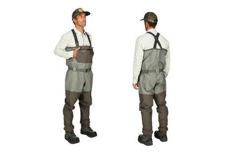 Simms Freestone Stockingfoot Waders Dark Gunmetal Large