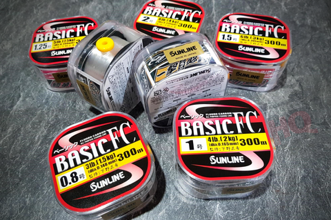 Sunline Basic FC Fluorocarbon All Purpose Fishing Line 300m