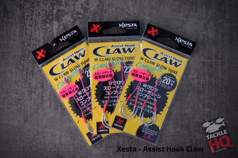 Xesta Slow Tune Assist Hook Range