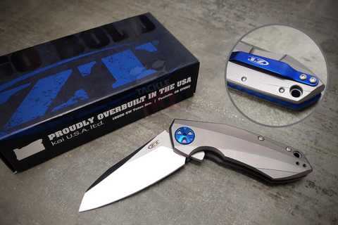 Zero Tolerance 0456 Sinkevich Two Tone Flipper Knife