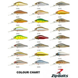 Zipbaits Khamsin Jr DR 50mm 4.2g 1.5m Suspending Lure