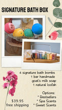Load image into Gallery viewer, edit apothecary Signature Bath Bomb Box
