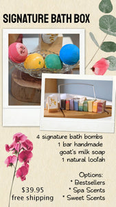 edit apothecary Signature Bath Bomb Box