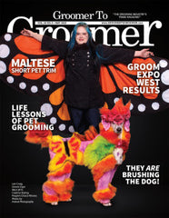 Our Smock on Groomer to Groomer Magazine!
