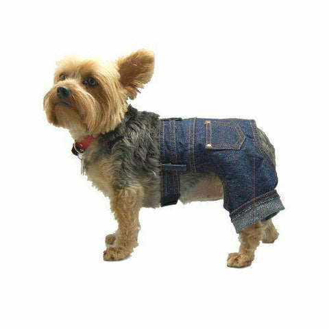 Dog Clothing Jeans Bow Wow Beauty Shoppe