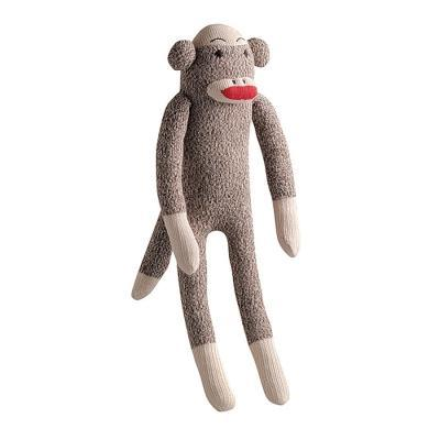 Dog Toys Sock Monkey Multipet