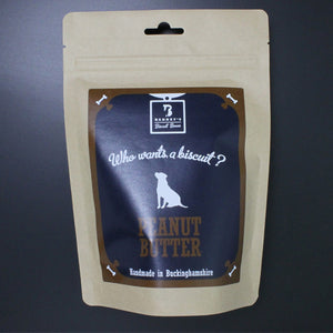 Organic Peanut Butter Dog Biscuits Packet