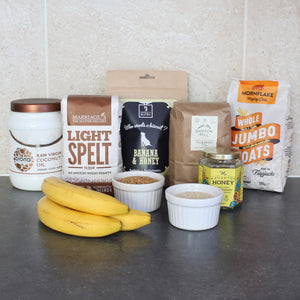 Ingredients in our Banana & Honey Dog Biscuits