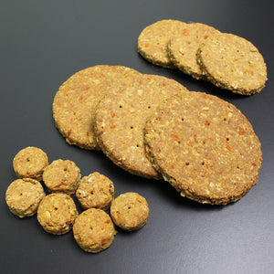 Fresh Carrot & Ginger Dog Biscuits