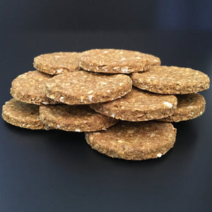 Ginger & Pumpkin Medium Size Dog Biscuits