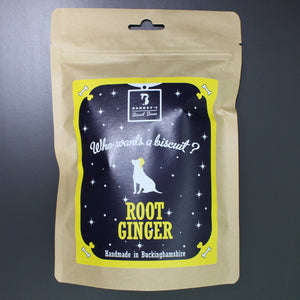 Root Ginger Dog Biscuits Packet