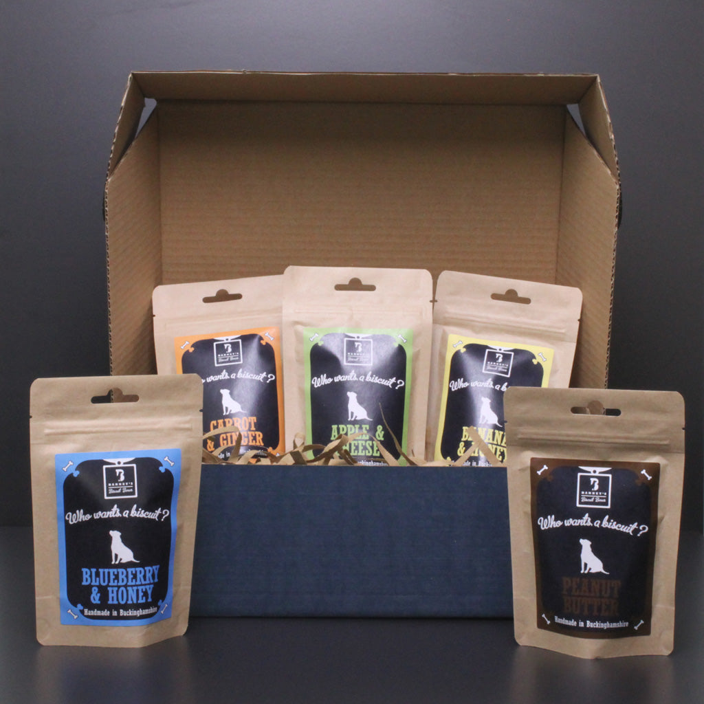Barneys Biscuit Boxes Taster Box