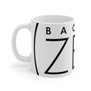 Back To Zen White Ceramic Mug-Mug-Back To Zen