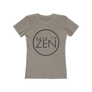 Back To Zen Women's The Boyfriend Tee